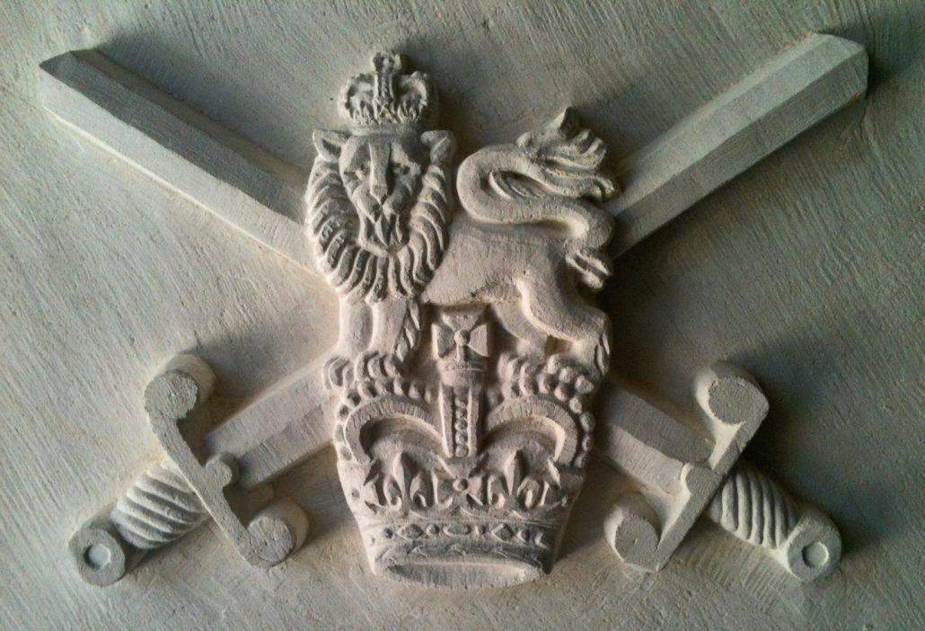 British Army motif in Portland