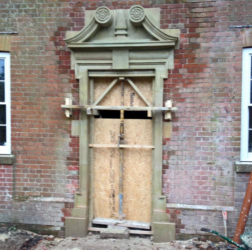 Centering on Door Surround