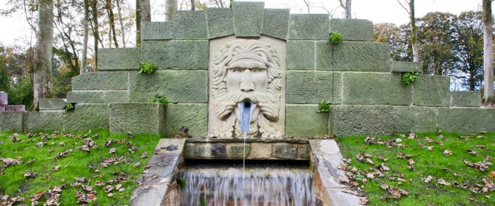 Harry Jonas Stonemasonry - Large Green Man Fountain