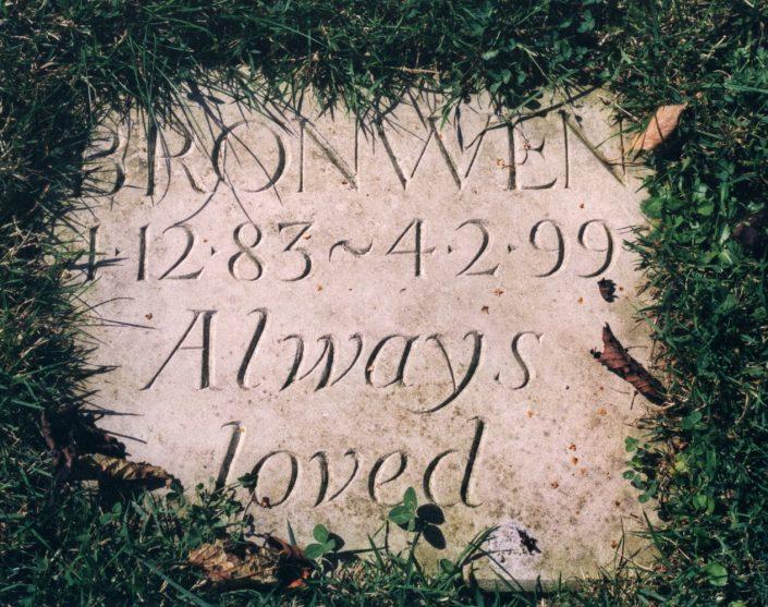 Harry Jonas Stonemasonry - Lettering - 011