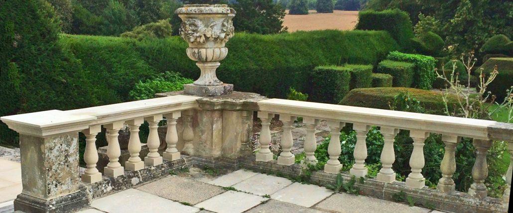 Harry Jonas Stonemasonry - Restoration - New Balusters and Coping