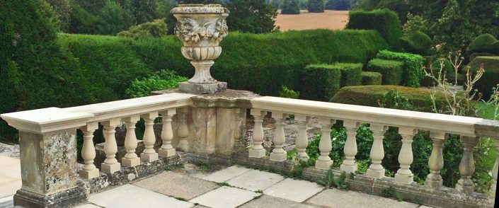 Harry Jonas Stonemasonry - Restoration - New Balusters and Coping
