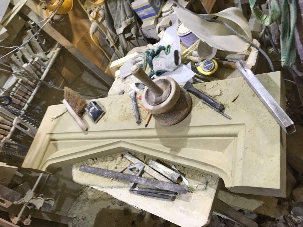 Harry Jonas Stonemasonry - Workshop